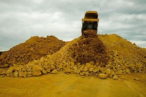 Linton Contracting supplies and delivers all grades of aggregate.