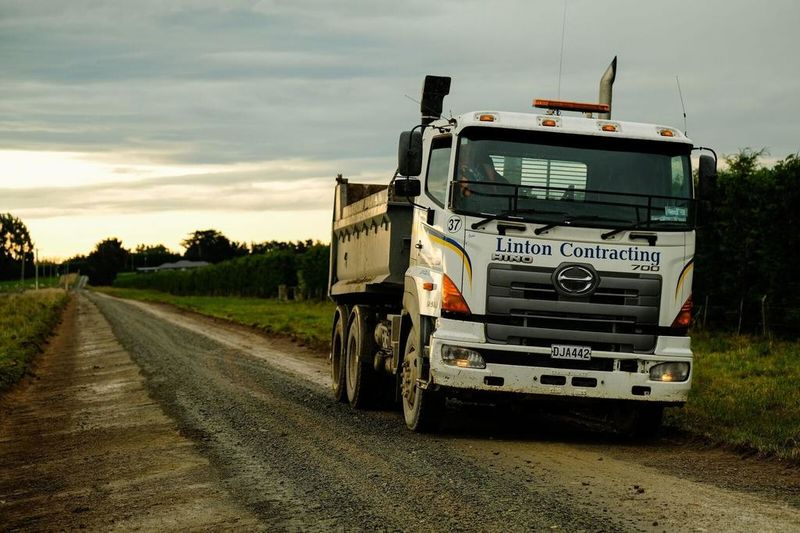 Lane construction and maintenance are part of the many farmworx services offered.